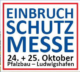Vorbericht zur Einbruchschutzmesse in Ludwigshafen 2015